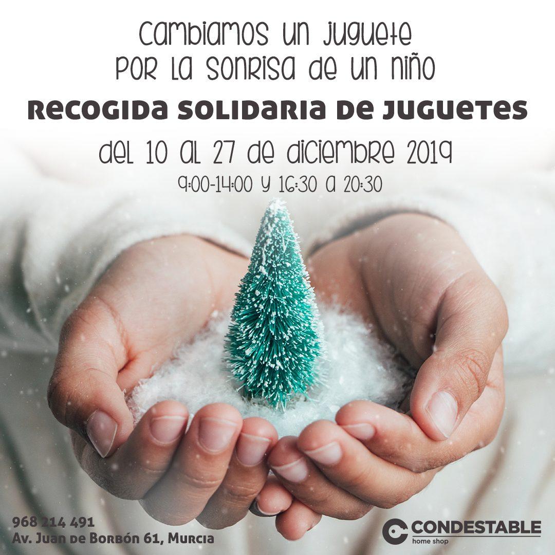 Recogida solidaria de juguetes en Condestable Real Estate